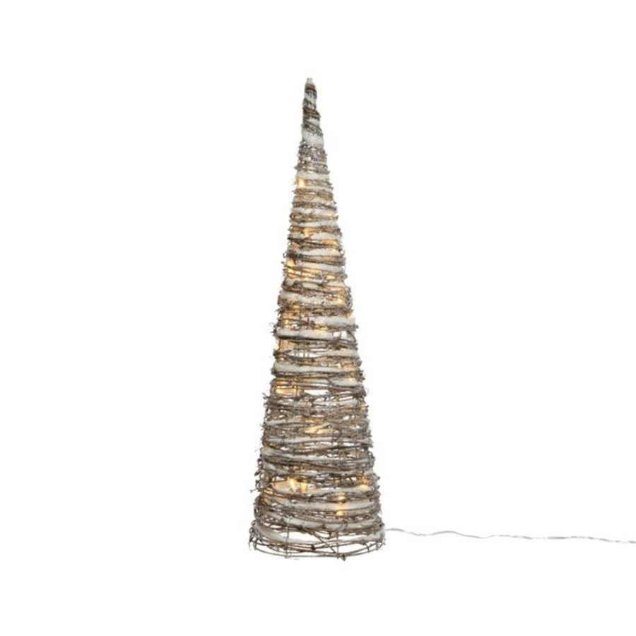 LED piramide rattan sneeuw 120cm 72lights-1