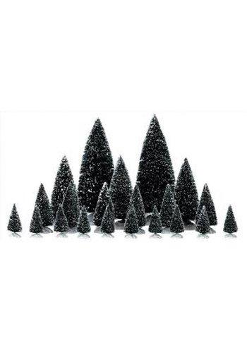 Lemax Pine trees ass  set/21