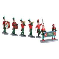 Christmas on parade set/6