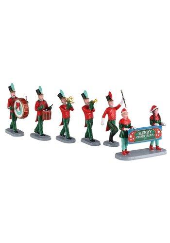 Lemax Christmas on parade set/6