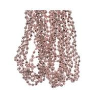 Kralenketting  0.50x2370cm blush pink plastic