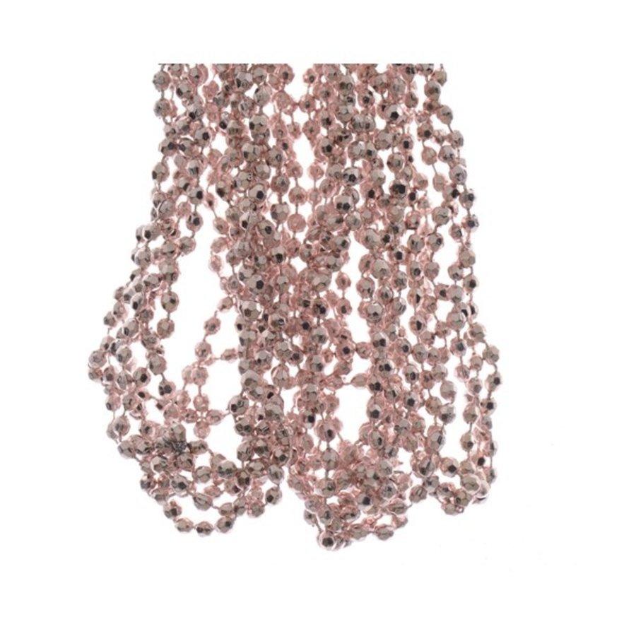 Kralenketting  0.50x2370cm blush pink plastic-1