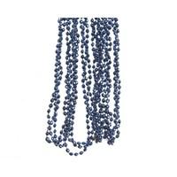 Kralenketting 0.5x270cm nachtblauw plastic