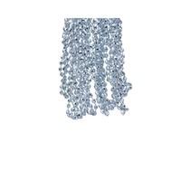 Kralenketting 0.5x270cm wintersky plastic