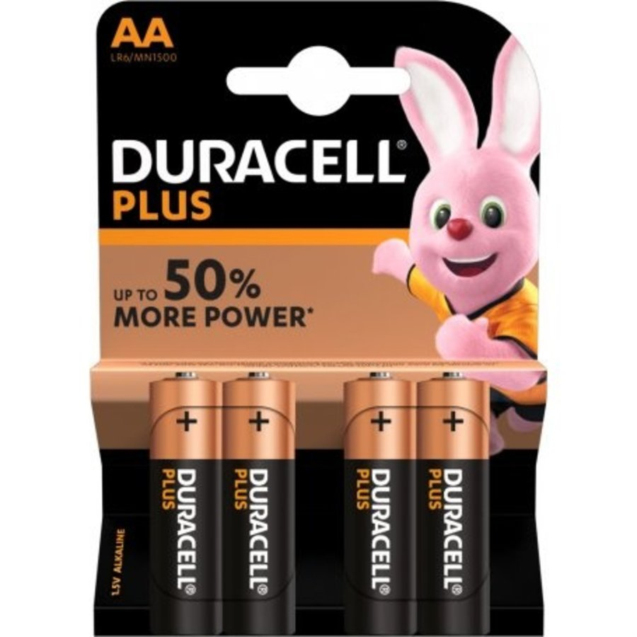 Duracell Plus AA  /4-1