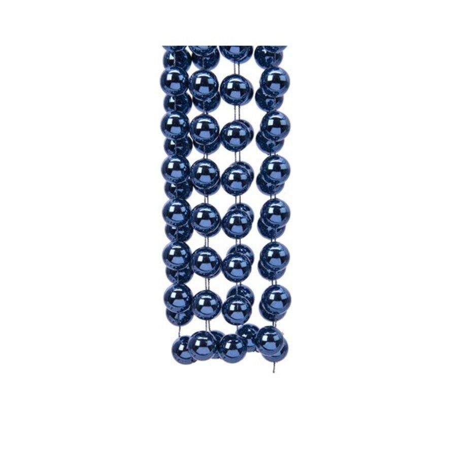 Kralenketting  XXL  dia2x270cm night blue-1
