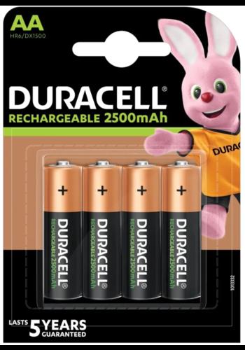 Duracell Herlaadbare batterij AA  /4