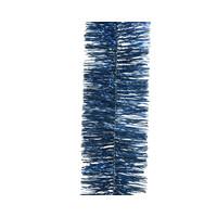Guirlande lametta glans dia7.5x270cm night blue