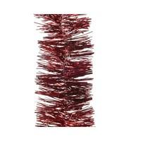 Guirlande lametta glans dia7.5x270cm oxblood