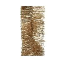 Guirlande lametta glans dia.7.5x270cm camel brown