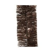 Guirlande lametta glans dia7.5x270cm d.bruin