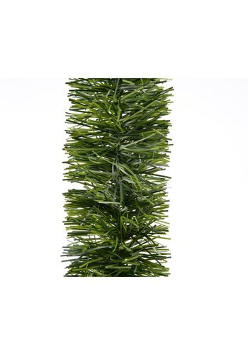Decoris Guirlande lametta dia7.5x270cm groen