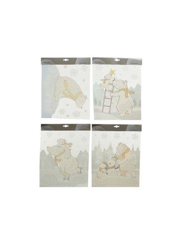 Decoris Raamdecoratie 28.5x34.5cm wit/1