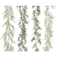Guirlande plc sneeuwfinish dia4x180cm groen