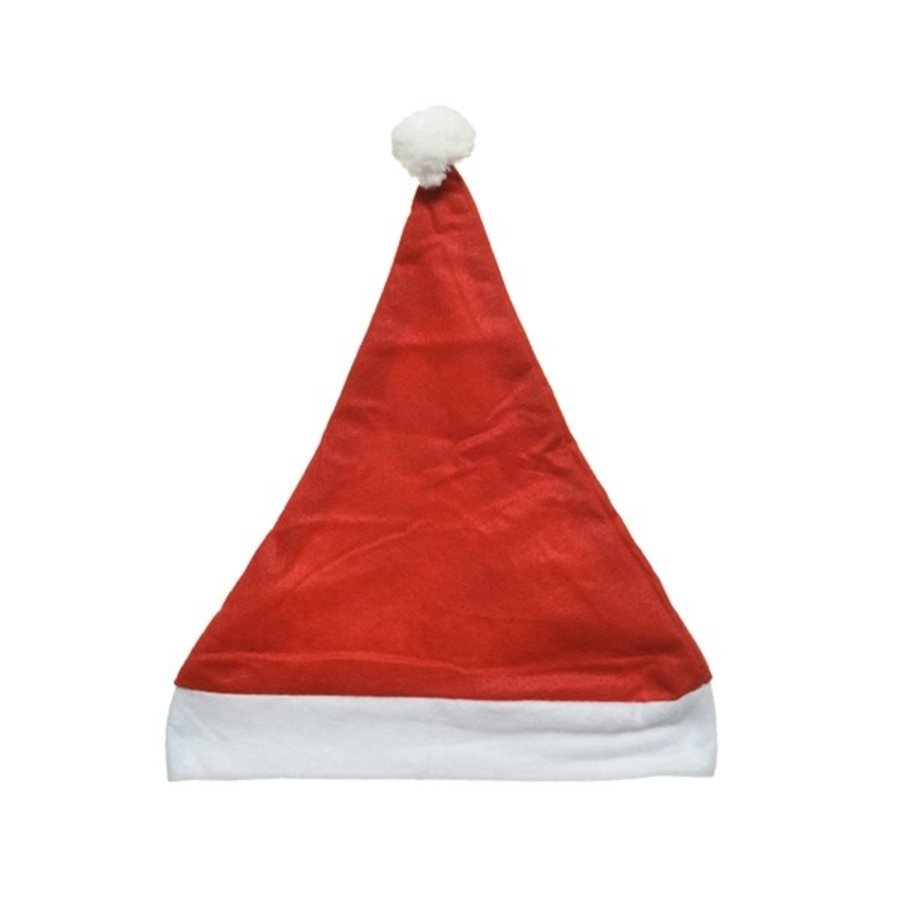 Kerstmuts 100% polyester 29x40cm-1