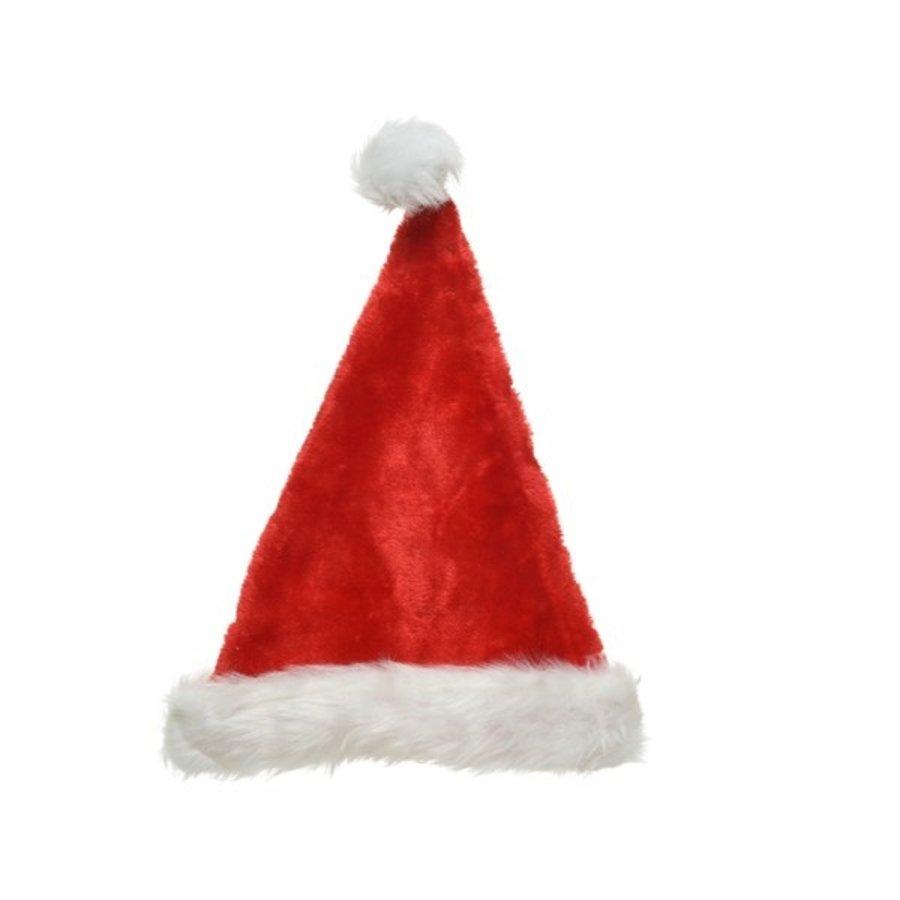 Kerstmuts 100% polyester 30x44cm-1
