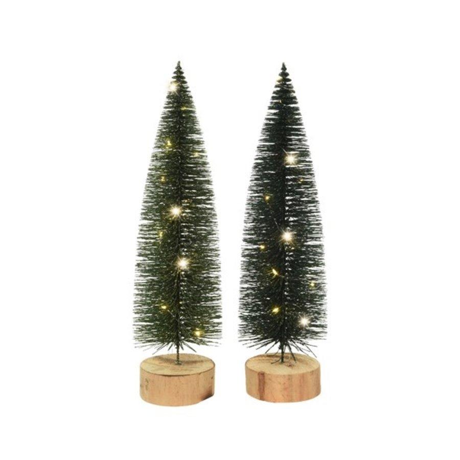 Miniboom hout prelit bo 15 micro led-1