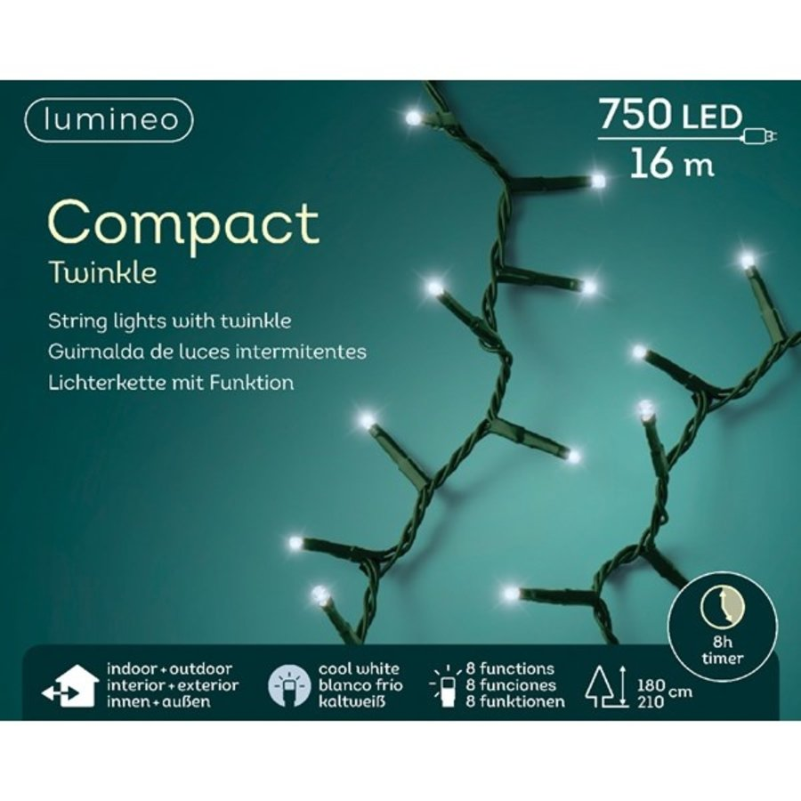 LED compact twinkle green cable - Koel Wit-5