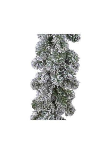 Guirlande Imperial snowy 270x25cm