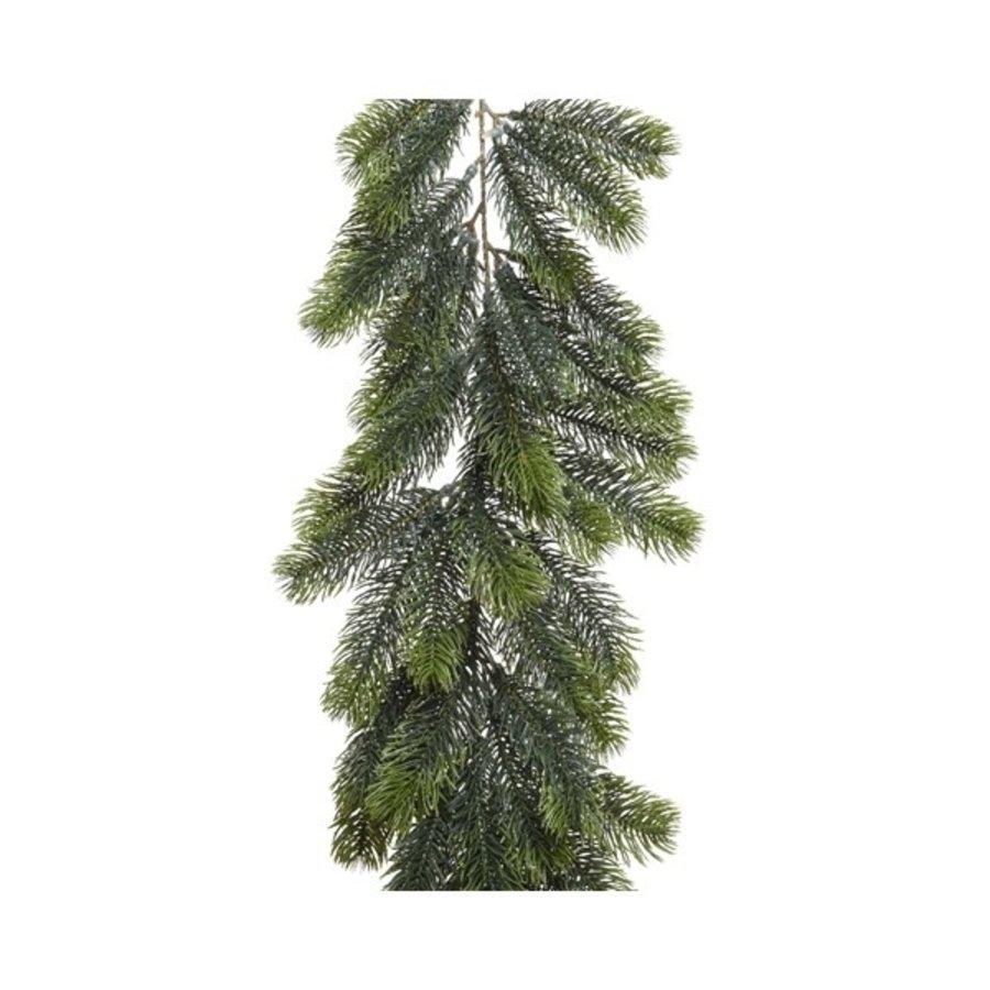 Guirlande PE 180cm groen 168 tips-1