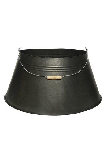 Boomring zink m.handvat dia70x28cm