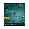 Lumineo LED basic lights twinkle - black cable - Klassiek Warm