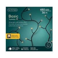 thumb-LED basic lights twinkle - black cable - Klassiek Warm-5
