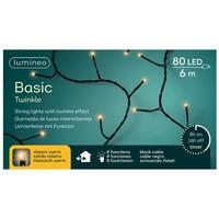 thumb-LED basic lights twinkle - black cable - Klassiek Warm-7