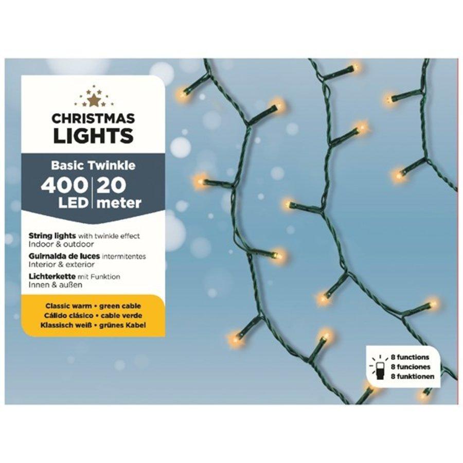 LED budget basic twinkle green cable - Klassiek Warm-3