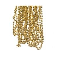 Kralenketting plastic diamant dia0.5x270cm licht goud
