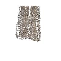 Kralenketting plastic diamant dia 0.5x270cm champagne