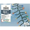 Lumineo LED budget cluster twinkle - green cable - Multicolour