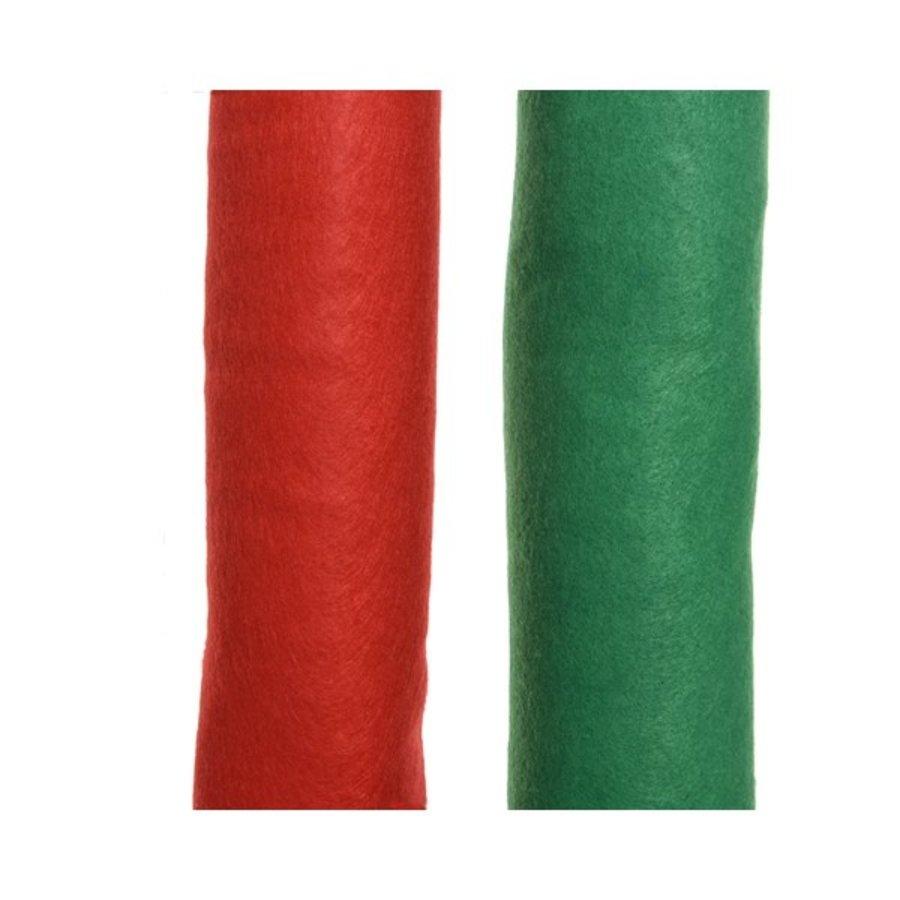 Decotapijt 240x90cm groen of rood-1