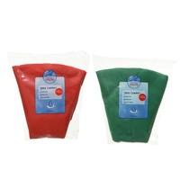 Boomkleed vilt d100cm groen of rood