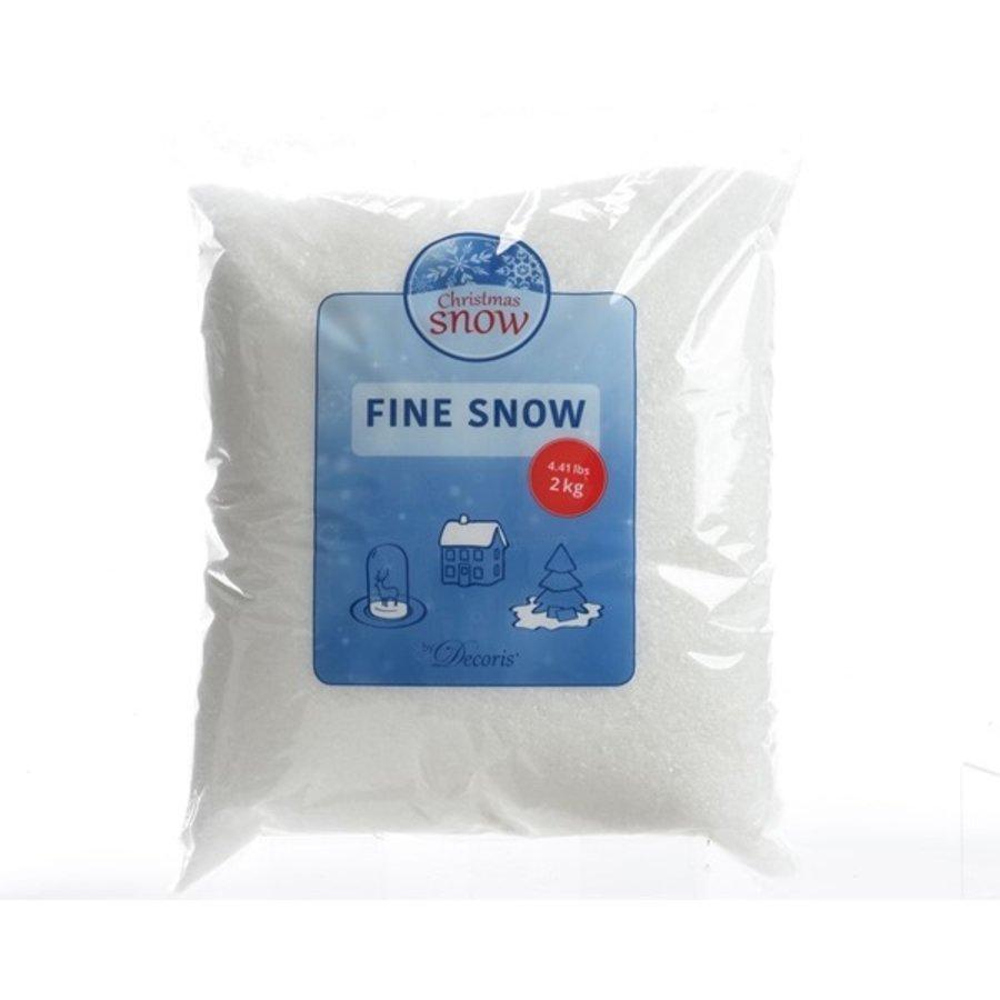 Sneeuw fijn wit 2kg-1