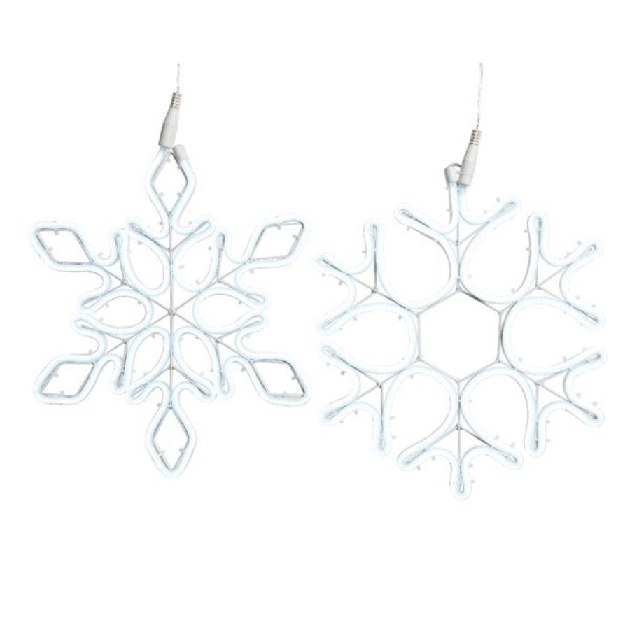 Led flex sneeuwvlok 69cm 576L koelwit 2ass-1