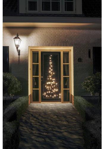 Fairybell LED deurboom, 210cm, 60 LED