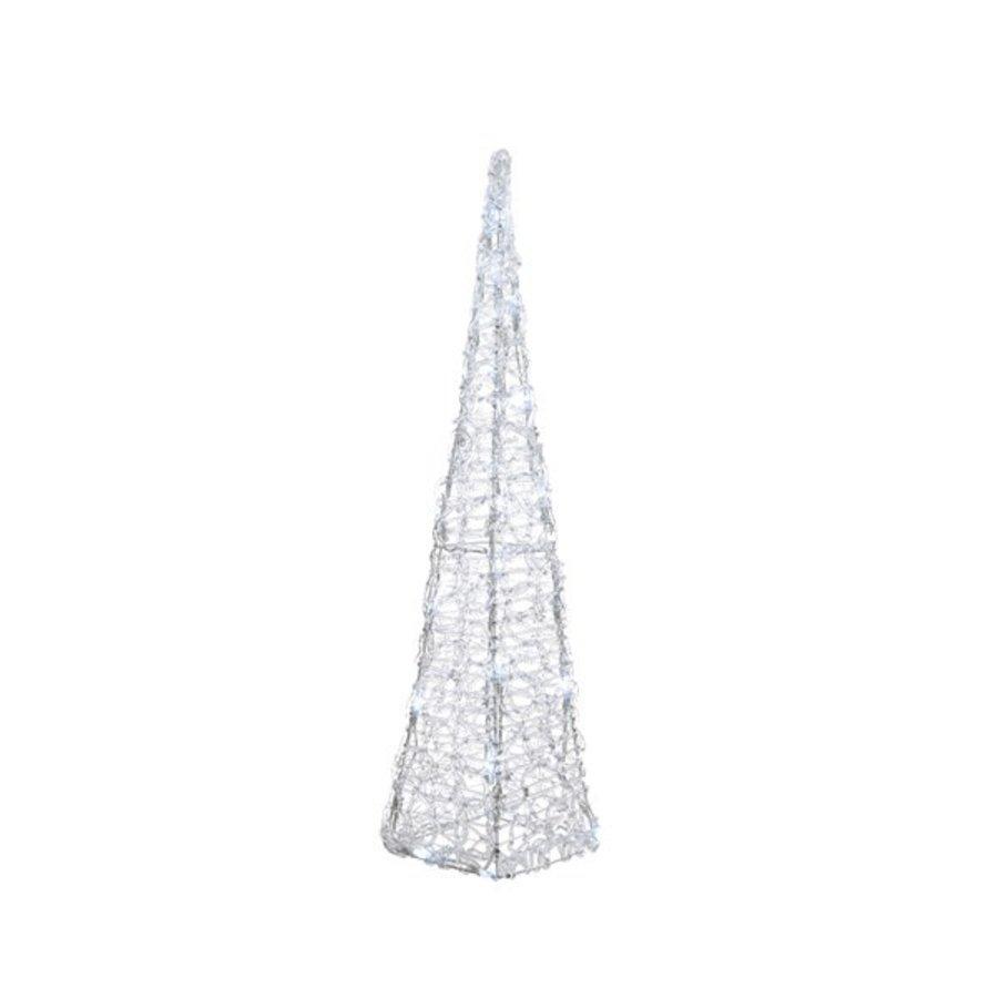 LED pyramide acryl 58cm koelwit-1