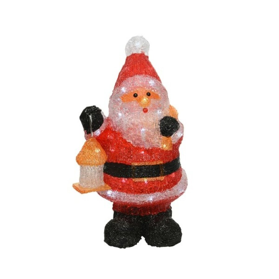 Led kerstman acryl 46cm 40L koelwit-1