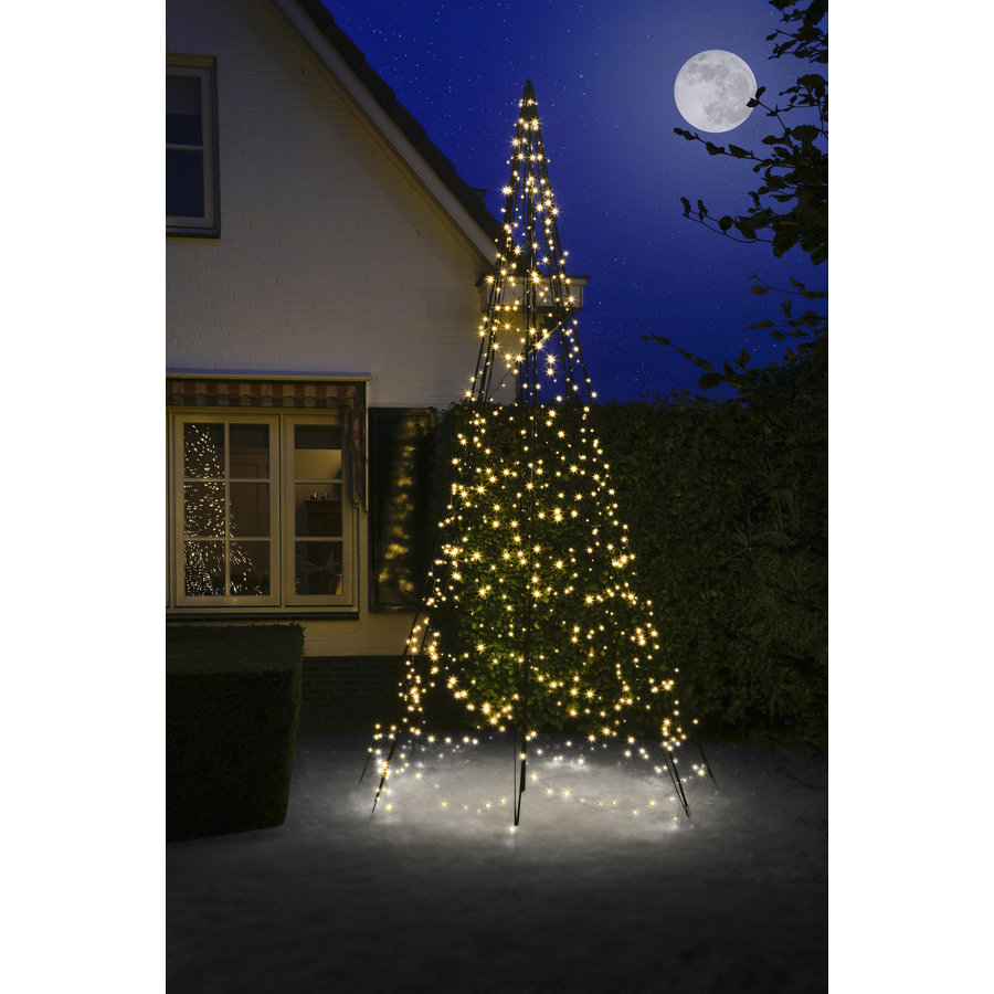 LED kerstboom 400cm, 640 LED, warm wit-1