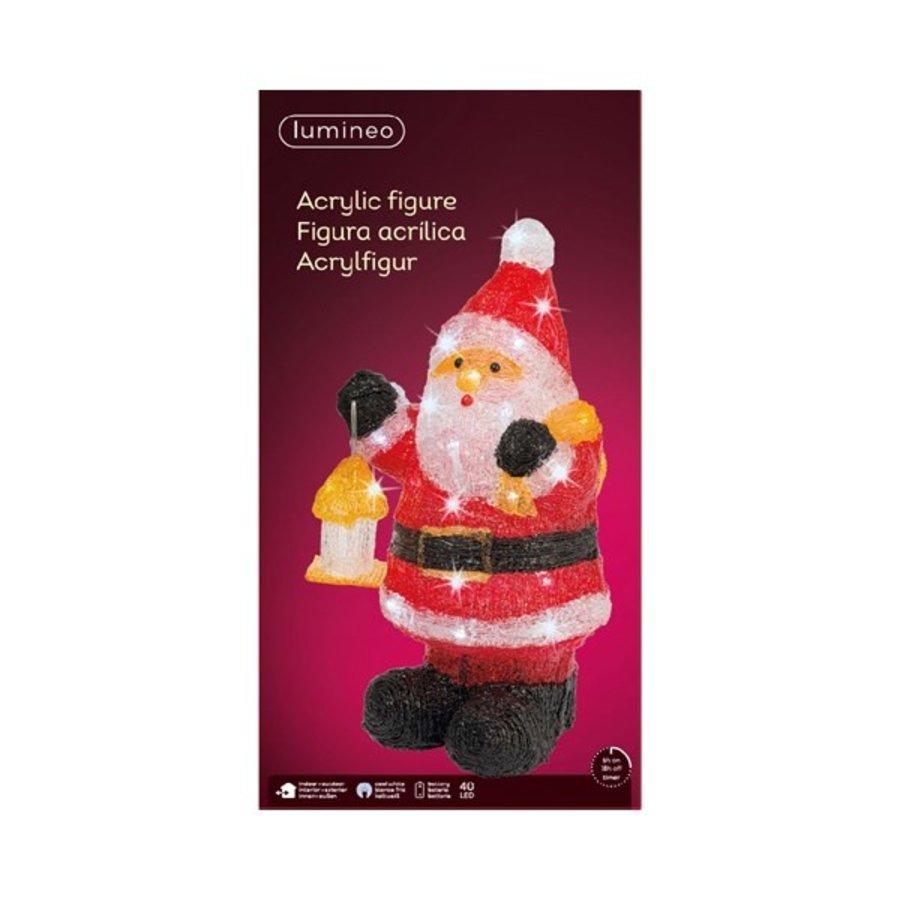 Led kerstman acryl 46cm 40L koelwit-2