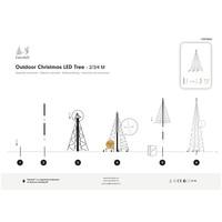 thumb-LED kerstboom 400cm, 640 LED, warm wit-3