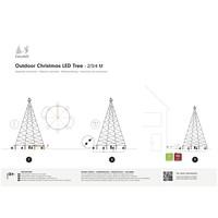 thumb-LED kerstboom 400cm, 640 LED, warm wit-4