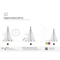 thumb-LED kerstboom 600cm, 900 LED warm wit-4
