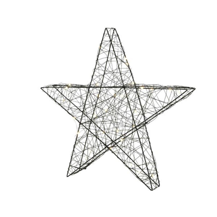 Micro LED ster 38cm 30L warmwit-1