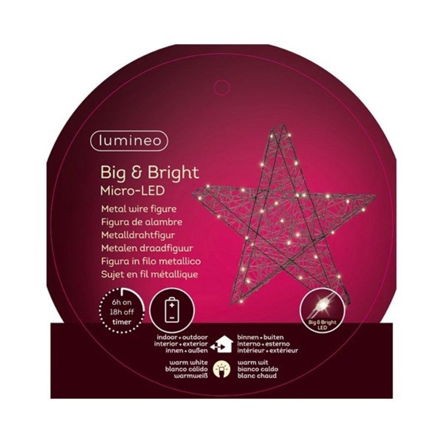 Micro LED ster 38cm 30L warmwit-2