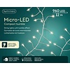 Lumineo micro LED compact twinkle - silver wire - Warm Wit