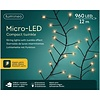 Lumineo micro LED compact twinkle - black wire - Klassiek Warm