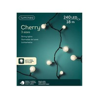 thumb-LED cherry lights - black cable - Warm Wit-5
