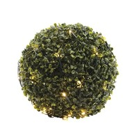 thumb-LED netverlichting buxus - green cable - Warm Wit-2